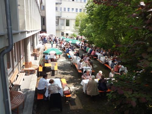 Gartenfest, gemütliches Beisammensein
